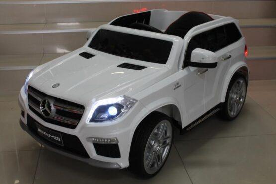 Акумулаторен джип Мерцедес AMG; цвят: бял