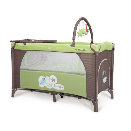 Бебешка кошара Sleepy цвят: зелен