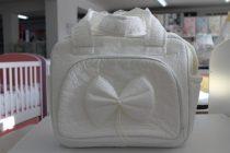 Чанта за количка Миси Lux; цвят: панделка/бяла дантела