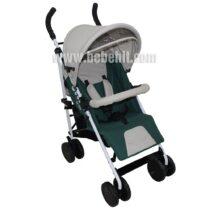 Лятна бебешка количка Smart; цвят: зелен