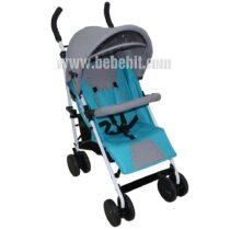 Лятна бебешка количка Smart; цвят: аквамарин