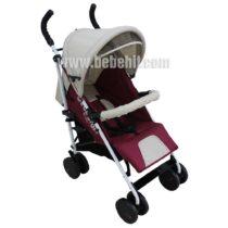 Лятна бебешка количка Smart; цвят: червен