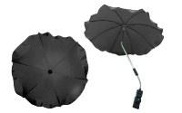 Чадър за количка; цвят: тъмно-сив