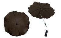 Чадър за количка; цвят: кафяв