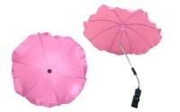 Чадър за количка; цвят: розов
