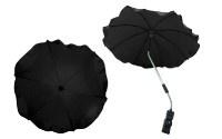 Чадър за количка; цвят: черен