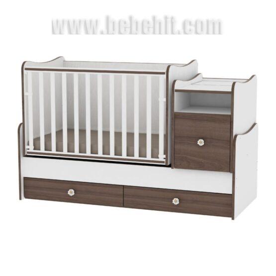 Детско легло Trend Plus New цвят: бял/орех