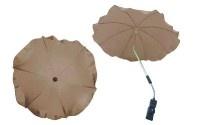 Чадър за количка; цвят: бежов