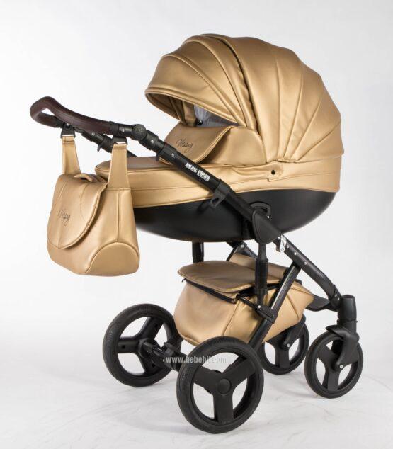 Бебешка количка Versay Eco 2в1; цвят: златен