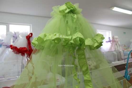 Балдахин Лукс; цвят: зелен