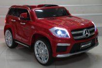 Акумулаторен джип Мерцедес AMG; цвят: червен