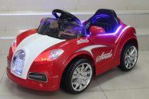 Акумулаторна кола Бугати; цвят: червен