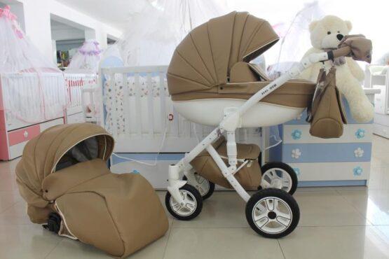 Бебешка количка Versay Eco 2в1; цвят: капучино