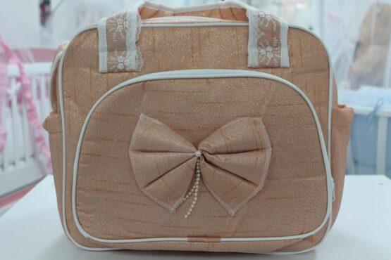 Чанта за количка Миси Lux; цвят: златен
