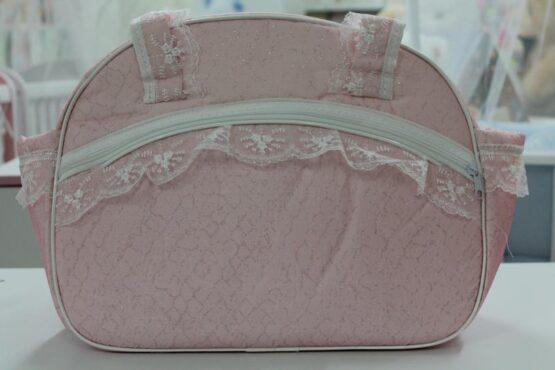 Чанта за количка Миси Lux; цвят: розов