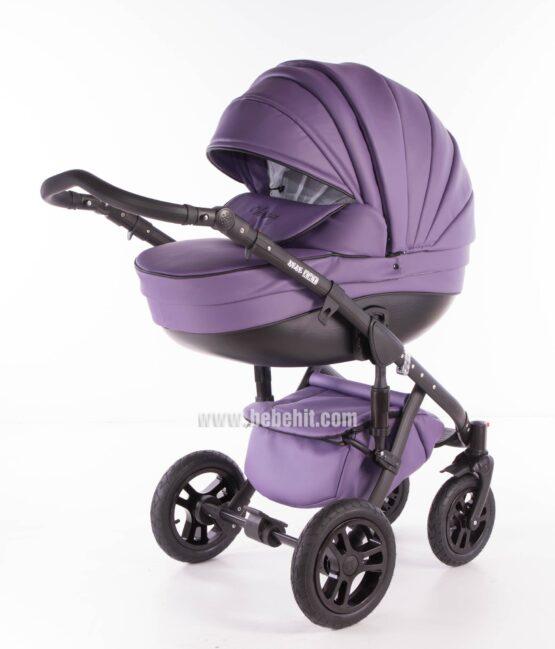 Бебешка количка Versаy Eco 2в1; цвят: лилав