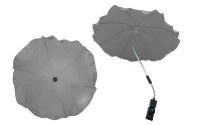 Чадър за количка; цвят: сив