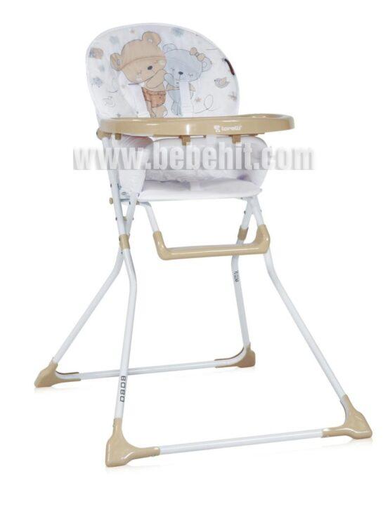 Столче за хранене Bobo; цвят: крем