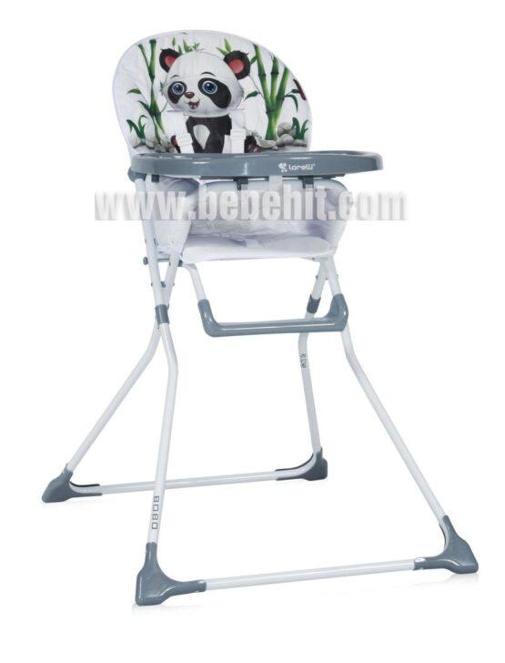 Столче за хранене Bobo; цвят: бял