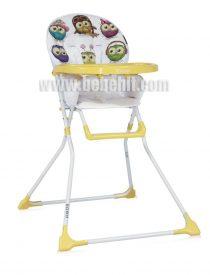 Столче за хранене Bobo; цвят: жълт
