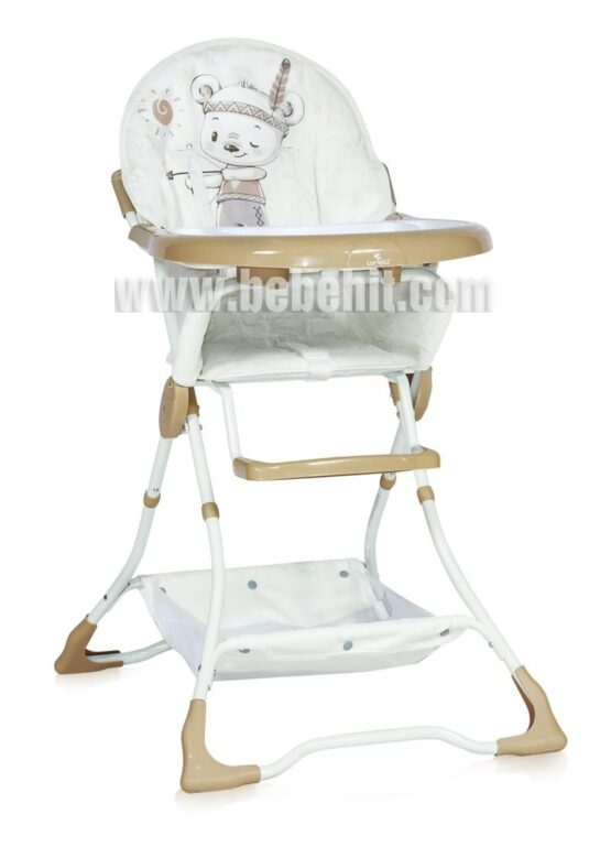 Столче за хранене Bon Bon; цвят: крем