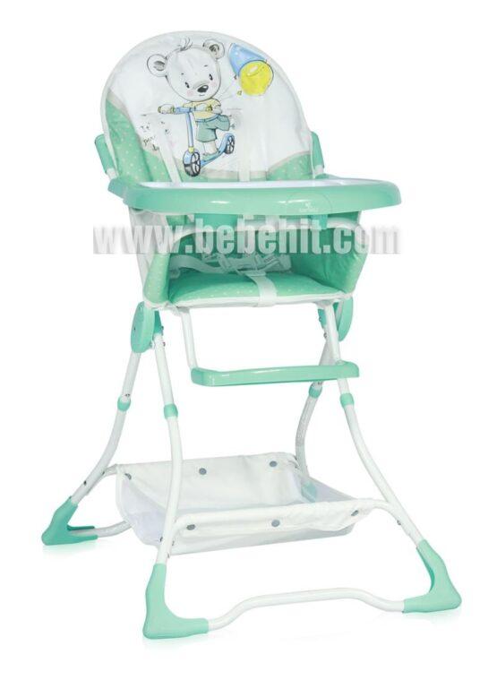 Столче за хранене Bon Bon; цвят: зелен