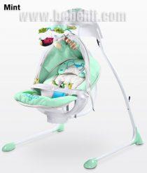 Електрическа люлка Bugies; цвят: зелен