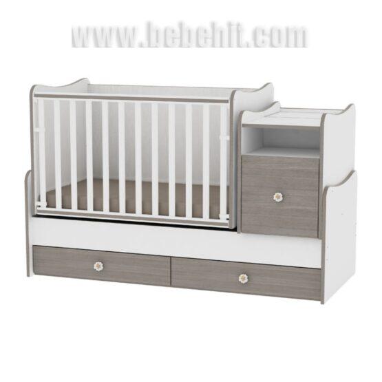Детско легло Trend Plus New цвят: бял/кафе