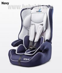 Стол за кола Vivo; цвят: черно-син