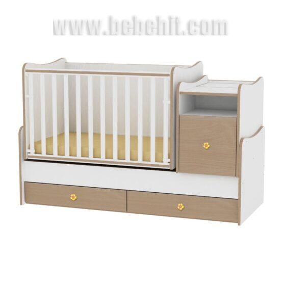 Детско легло Trend Plus New цвят: бял/бук