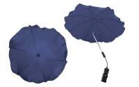 Чадър за количка; цвят: тъмно-син