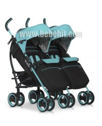 Бебешка количка за близнаци Duo Comfort; цвят: светло-син