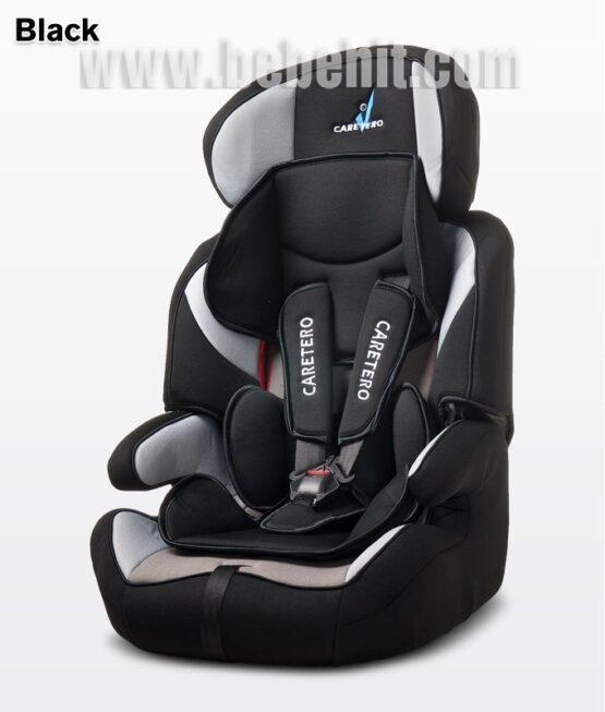 Стол за кола Falcon; цвят: черен
