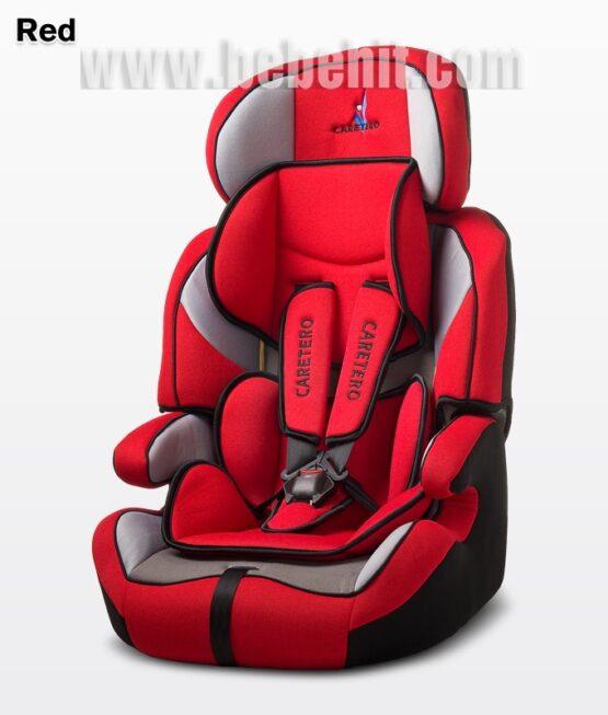 Стол за кола Falcon; цвят: червен