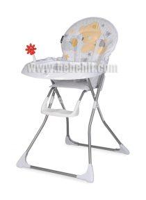 Столче за хранене Jolly; цвят: бял