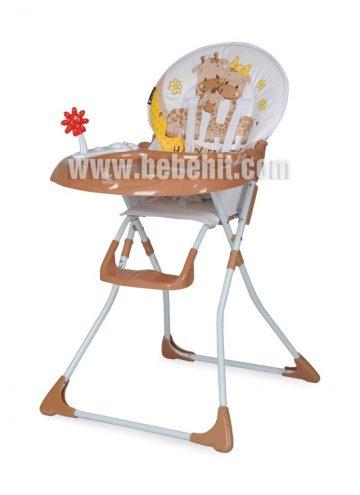 Столче за хранене Jolly; цвят: кафяв
