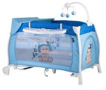 Бебешка кошара iLounge; цвят: син