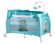 Бебешка кошара iLounge; цвят: светло-син