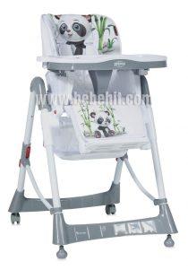 Столче за хранене PRIMO; цвят: бял