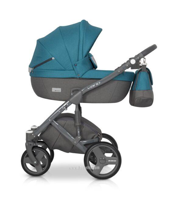 Бебешка количка Vario 2в1; цвят: син