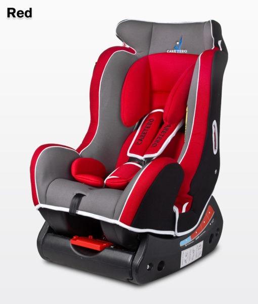 Стол за кола Scope; цвят: червен
