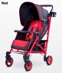 Бебешка количка Sonata; цвят: червен