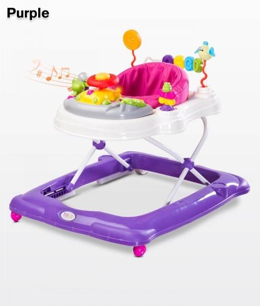 Бебешка проходилка Степ; цвят: лилав