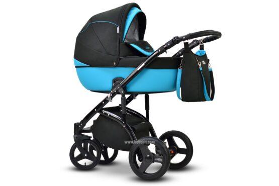 Бебешка количка Modo 2в1; цвят: син