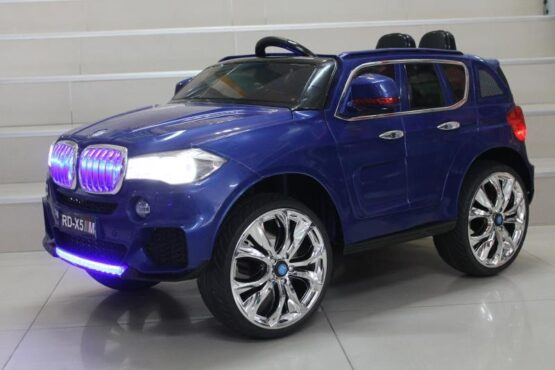 Акумулаторен джип RD-X5 (BMW); цвят: син
