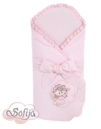 Портбебе Моли; цвят: розов