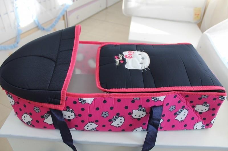 Портбебе Миси; цвят: розово коте