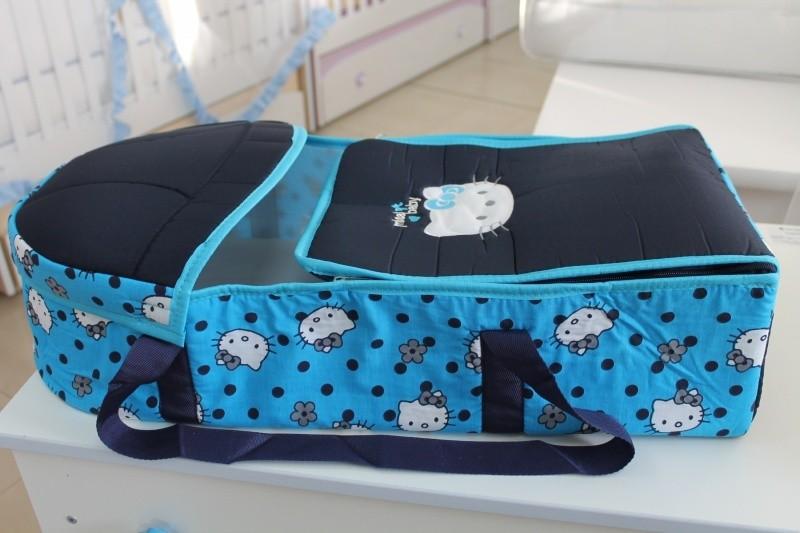 Портбебе Миси; цвят: синьо коте