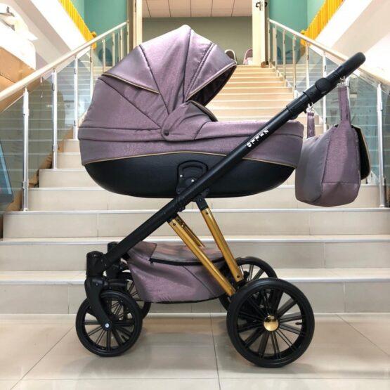 Бебешка количка Zillo 2в1; цвят: лилав