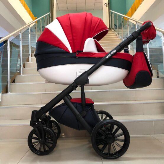 Бебешка количка Versay 2в1; цвят/червено